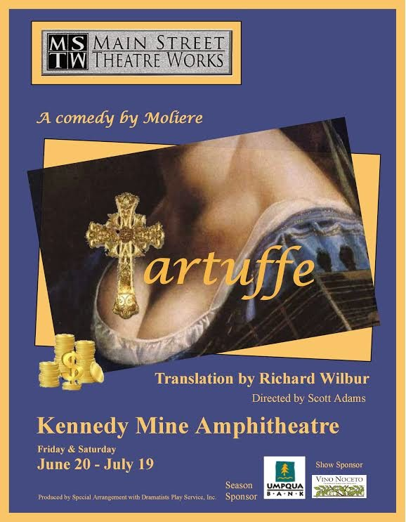 Main Street Theater Works Presents: Tartuffe - Through July 19