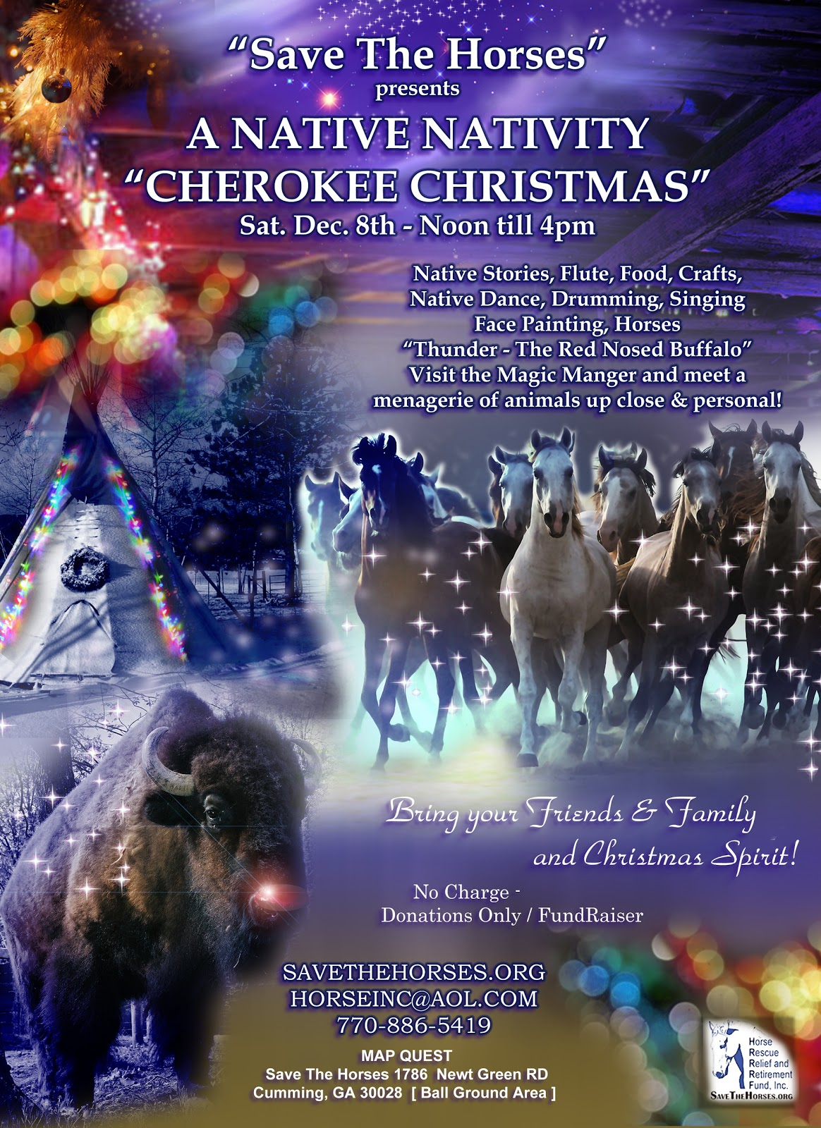 native american christmas celebration