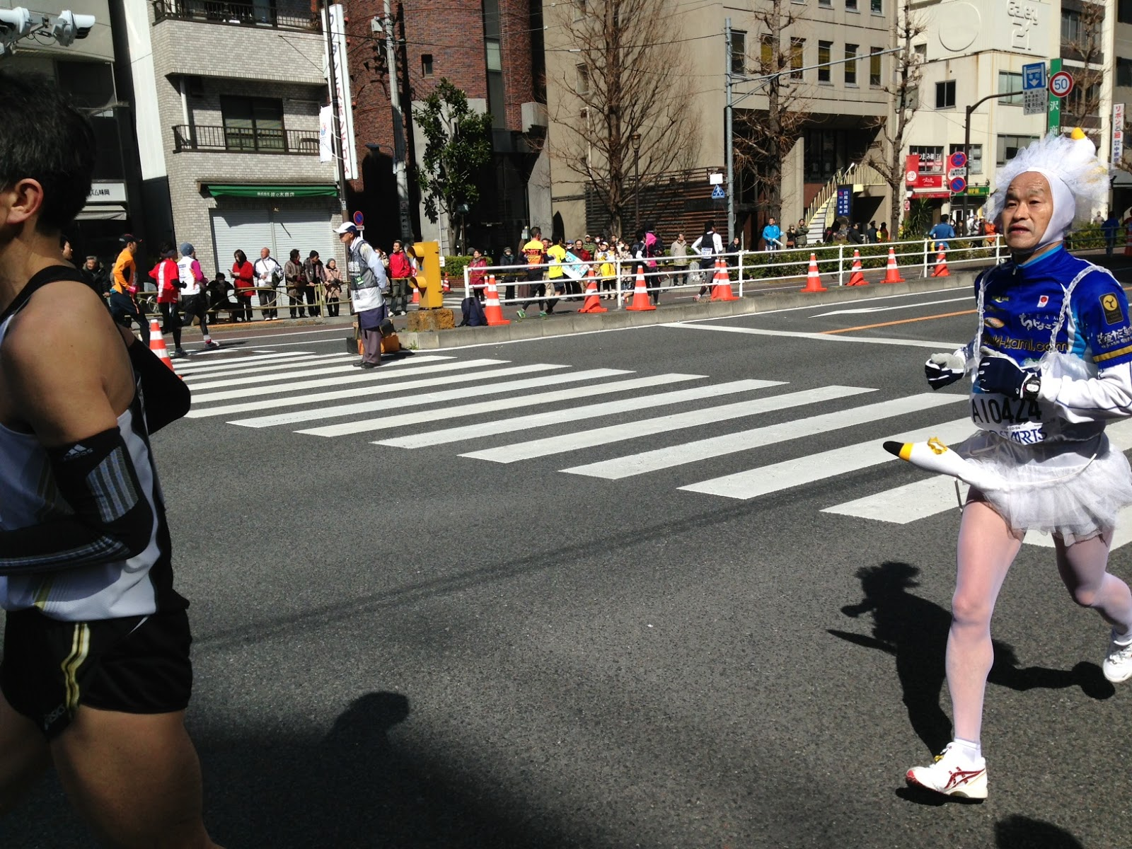 2013 Tokyo Marathon gets phallic.