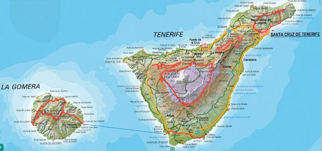 Vuelta a las Islas de Tenerife y La Gomera en MTB