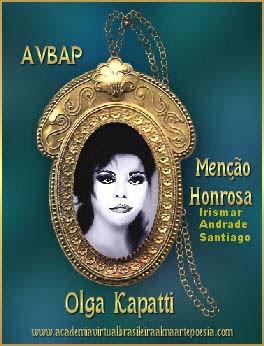 Prêmio Menção Honrosa: Olga Kapatti