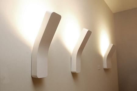 lampadari a muro : new family of wall lamps architectural setting. An object ...