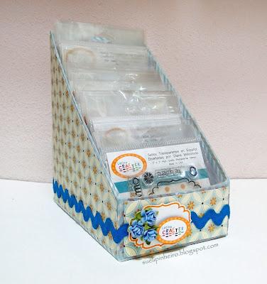 Cajitas alteradas para guardar sellos