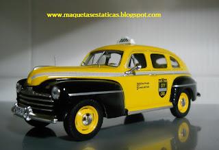 Taxi Ford Fordor Sedan