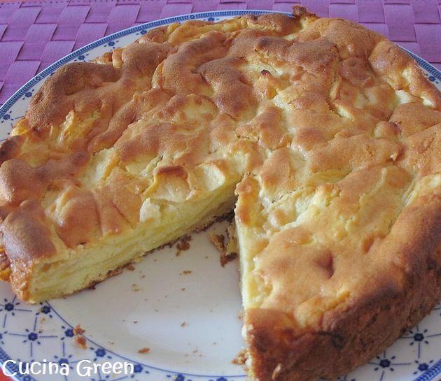 torta di mele senza burro facile