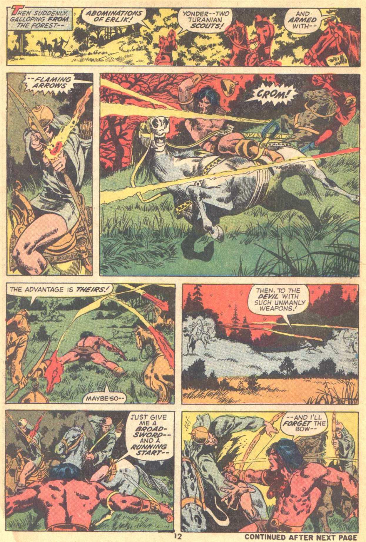 Conan the Barbarian (1970) Issue #21 #33 - English 10
