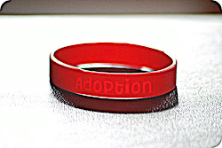 Adoption Awareness Bands