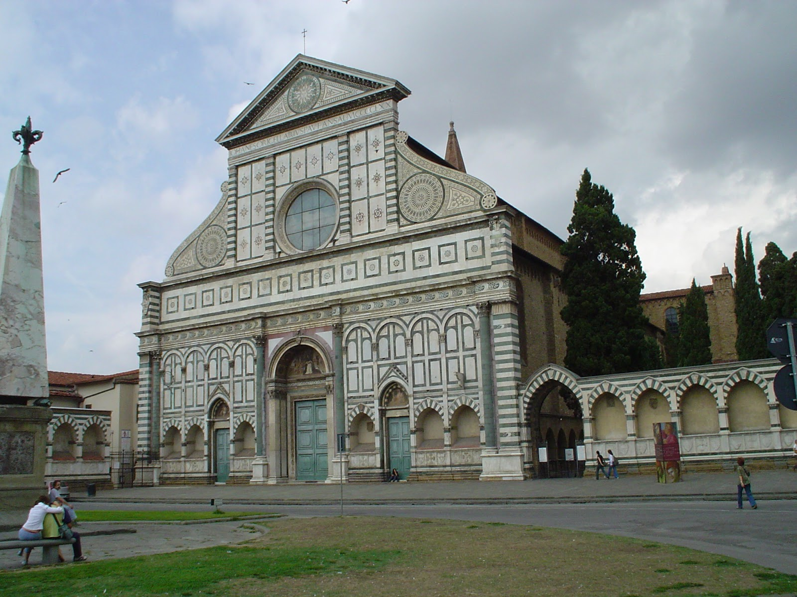 Leon battista alberti basilica of santa maria novella for Novella homes