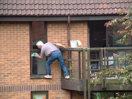 Weird and funny most fearless cleaners for Window cleaner