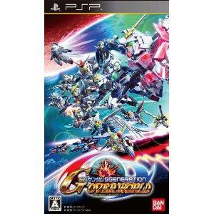 PSP SD Gundam G Generation Overworld