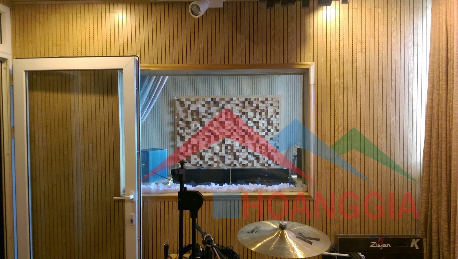 thi công phòng thu âm