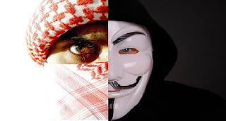 """Państwo Islamskie nazwało Anonymous """"idiotami"""", Anonimowi odpowiadają"""