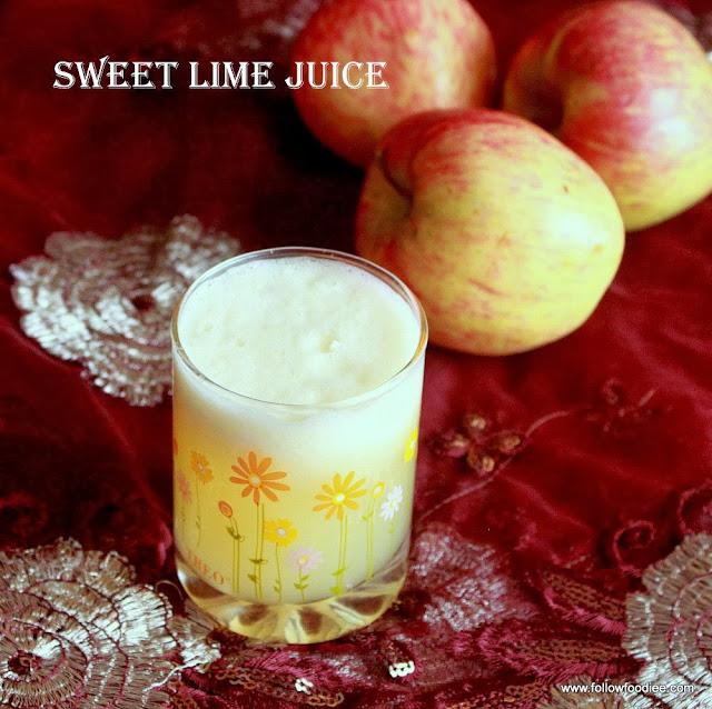 Fresh Sweet Lime juice