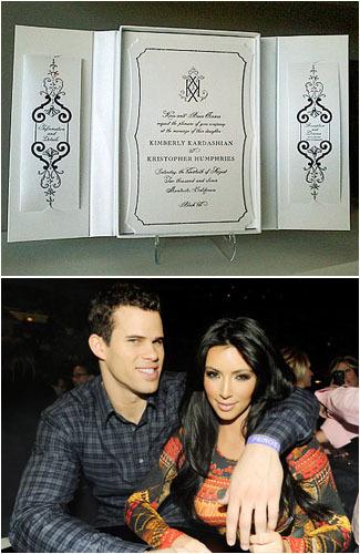 10 World Celebrities Unique Wedding Invitations Ideas Vemales