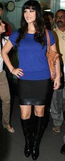 Sunny Leone arrives in Mumbai to be part of 'Bigg Boss Season 5
