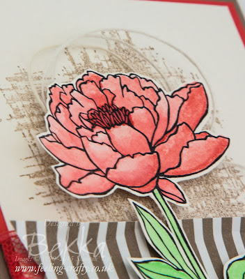 How To Colour On Stampin' Up! Shimmery Card - A Video Tutorial using You've Got This from Stampin' Up!