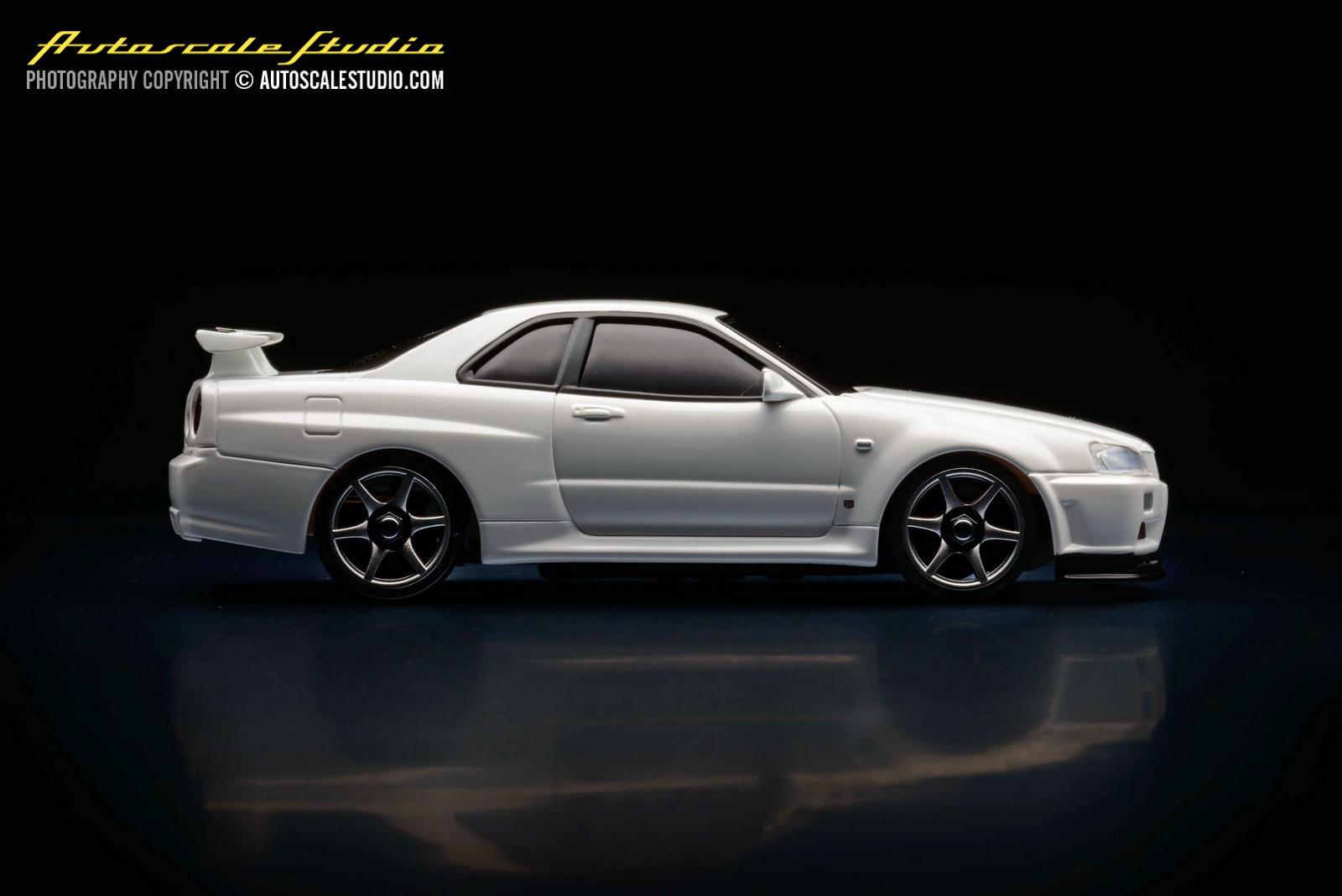 Mzp401w Nissan Skyline Gt R V Spec Ii N 252 R White