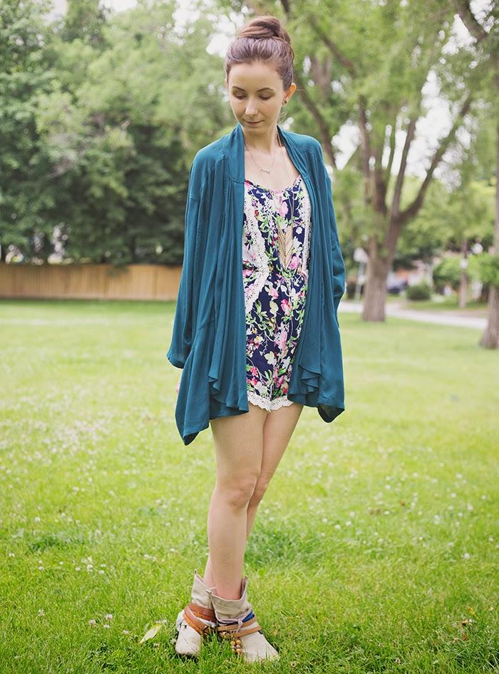 Floral-romper-kimono