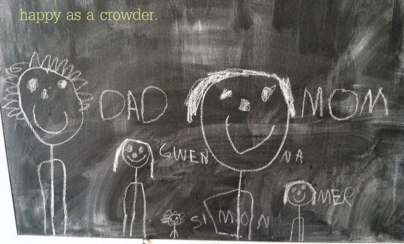 happy as a crowder.