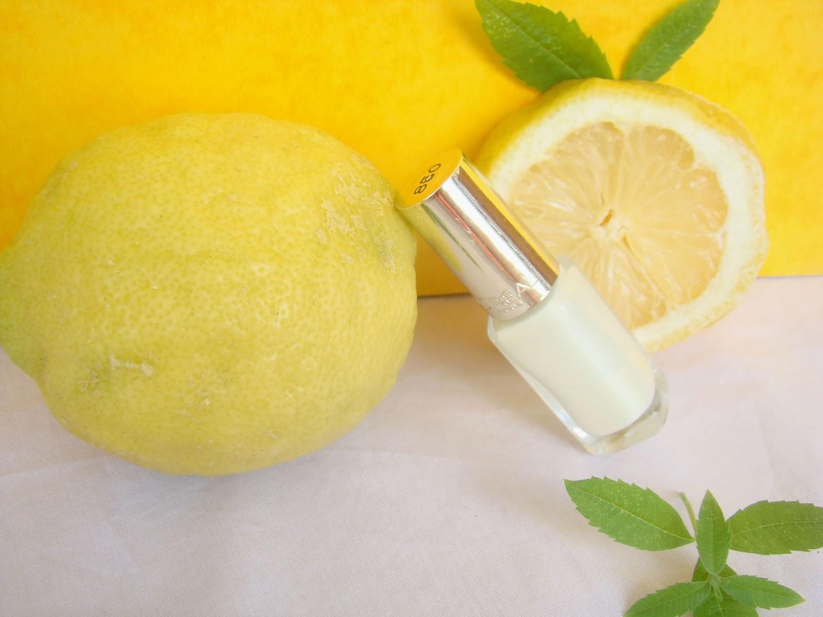 Vernis Lemon Meringue 850 de l'Oréal
