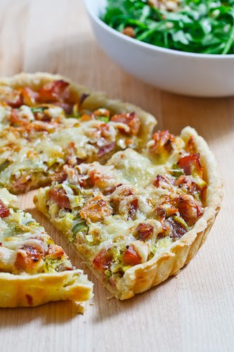 Ham and Leek Tart on Closet Cooking