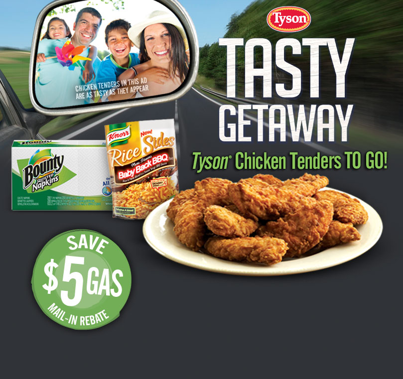 Petroleum Fuel Mail: Bargains With Barb: Buy Tyson Chicken From The Deli, Get