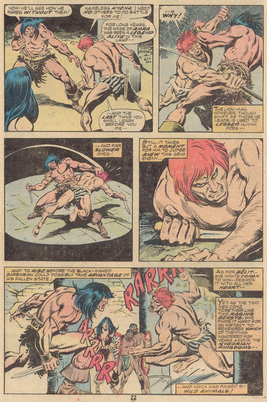 Conan the Barbarian (1970) Issue #63 #75 - English 15