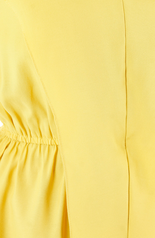 Chiselled Sunflower Yellow Blouse