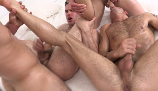 hardcore gay 4some