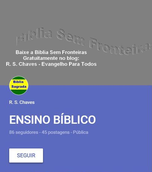 ENSINO BÍBLICO