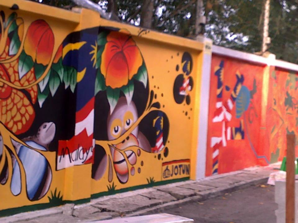 ct 1 malaysia mural painting competition
