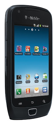 new New Samsung Exhibit 4G Android Smartphone 2011