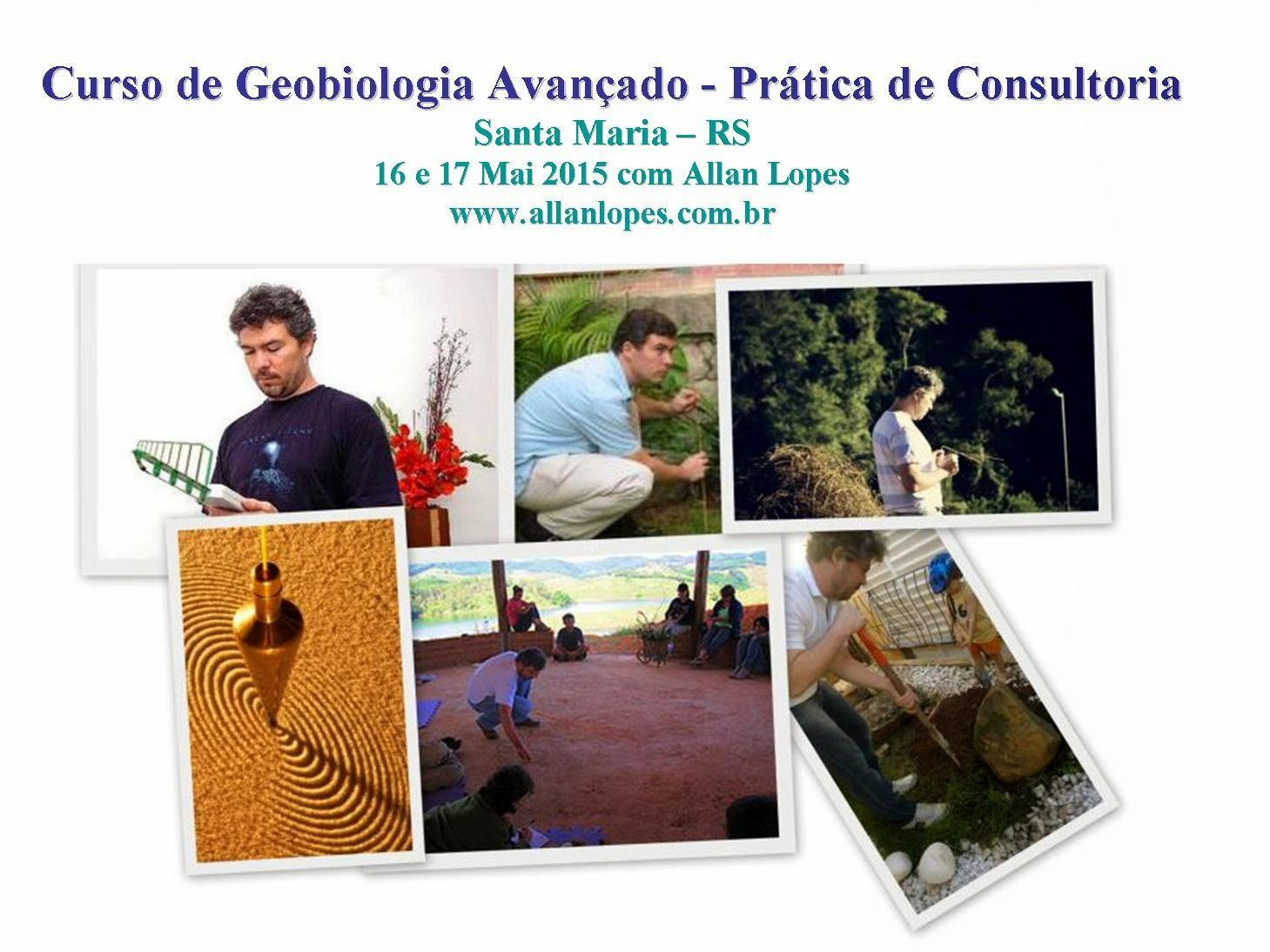 Curso de Geobiologia Avançado - Prática de Consultoria