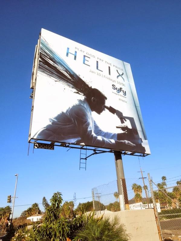 Helix Syfy season 1 billboard