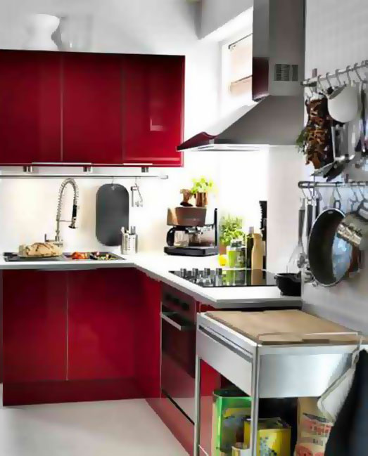 L Shaped Kitchen Designs Pictures