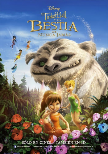 Tinker Bell and the Legend of the NeverBeast (BRRip 1080p Dual Latino / Ingles) (2014)