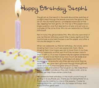 my best birthday essay essay my birthday party
