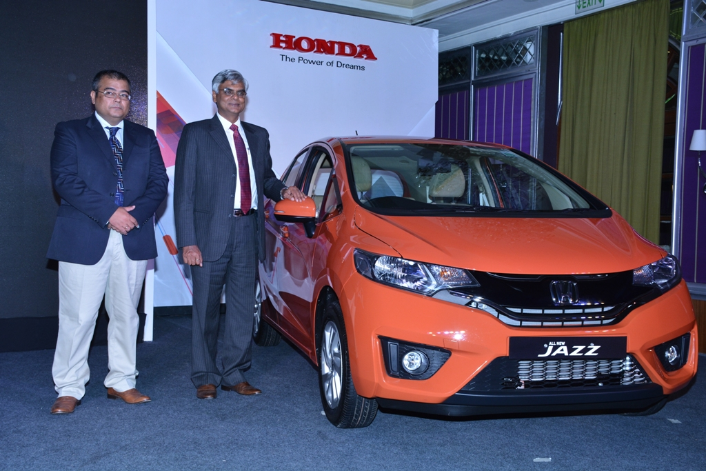 From L R Mr Sandeep Madan Zonal Head South Region Honda Cars India Ltd Jnaneswar Sen Sr Vice President At The Launch Of All