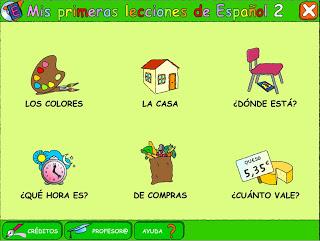 2 lecciones de español