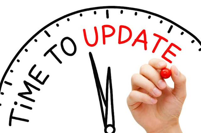 Update Postingan Blog tiap Hari
