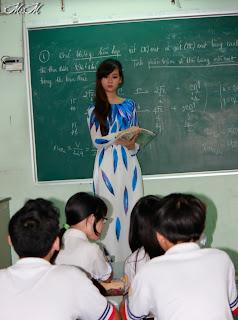 Co giao dep nhat viet nam 006 Chân dung cô giáo đẹp nhất Việt Nam