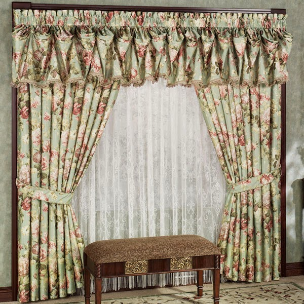 Interior Decor Plus: STYLISH MODEL CURTAINS FOR A BEAUTIFUL BEDROOM