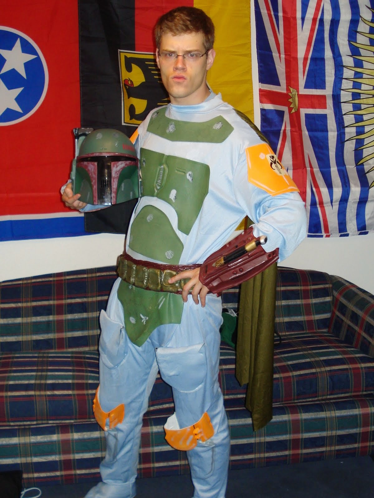 ... and I'm Boba Fett on the weekends