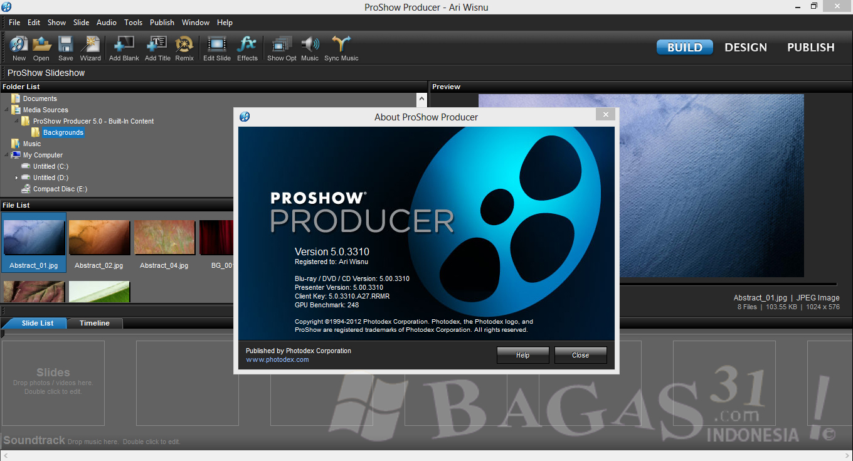 Photodex ProShow Producer 5.0.3310 Full Keygen 1
