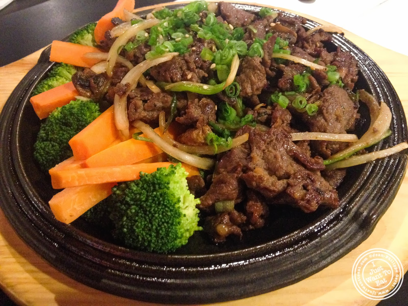 image of ribeye bulgogi at BonChon in Midtown West, NYC, New York