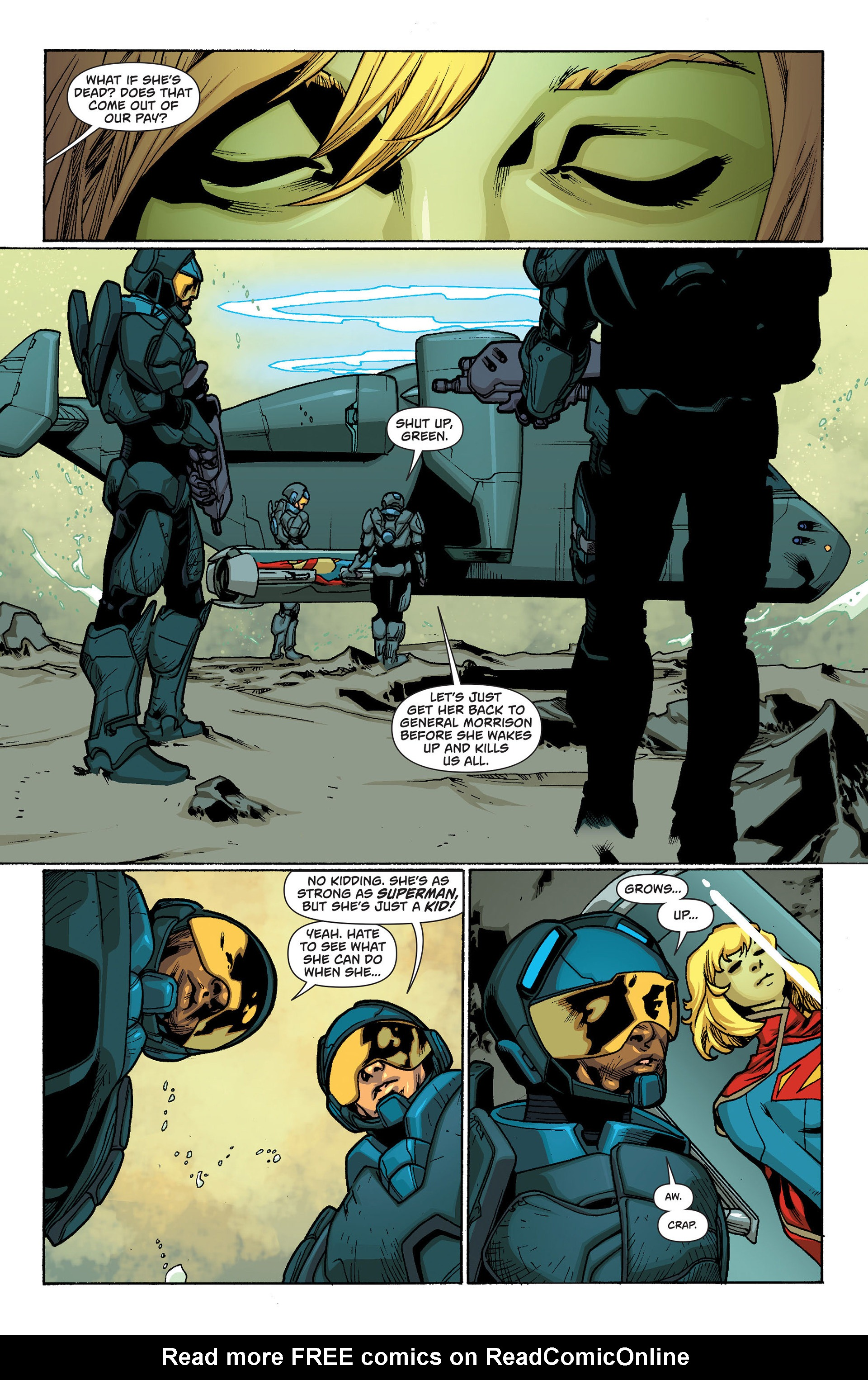 Supergirl (2011) Issue #19 #21 - English 5