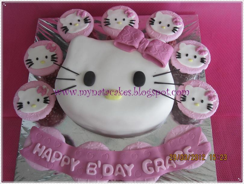 Mynata Cakes: Hello Kitty birthday cake for grace