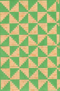 Cara membuat Anyaman dari Kertas Buffalo dan Contoh Motif Anyaman
