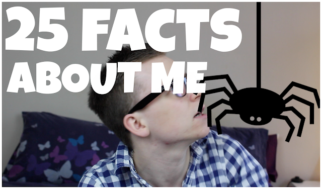 shoutjohn youtube 25 facts about me tag