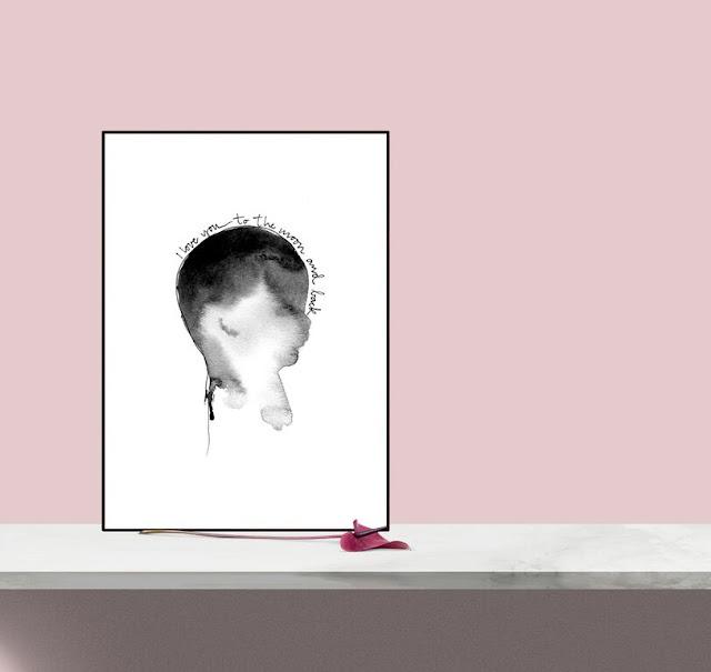 tavla, tavlor, poster, posters, barnrum, barnrummet, huvud, svart och vitt, svartvit poster, svartvit, svartvita, svart, vitt, vit, vita, konsttryck, prints, print, artprint, artprints, på väggen, till barnrummet, inredning, inredningsdetaljer, inredningsblogg, annelies design interior, anneliesdesign,